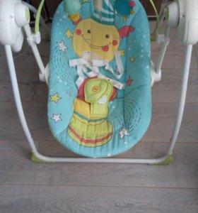 Электрокачель happy baby jolly