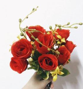 Декоративные цветы 🌹