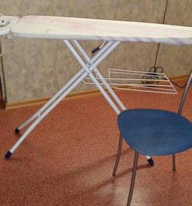 Гладильная доск и стул