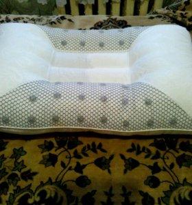 Подушка ортопедическая. Наволочка в подарок.