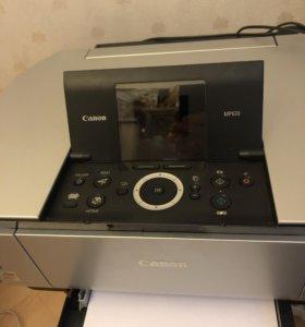 Цветной принтер сканер Canon Pixma MP-610
