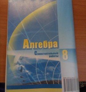 """""""Самостоятельные работы""""Алгебра 8 класс."""