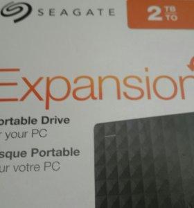 Внешний диск usb seagate 2Tb