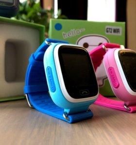 Десткие часы c gps smart baby watch Q90
