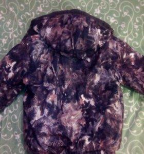 Детский костюм (комбинезон + куртка зима)