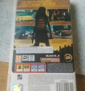 """""""Need For Speed Undercover""""Игра на PSP-1008 2C"""