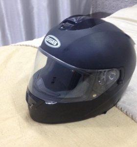 GSB G-350, интеграл, чёрный-матовый, размер XL