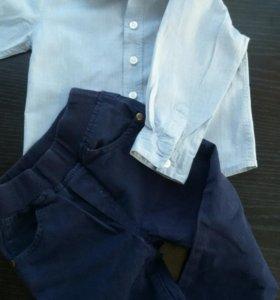 Рубашка+брюки для мальчика