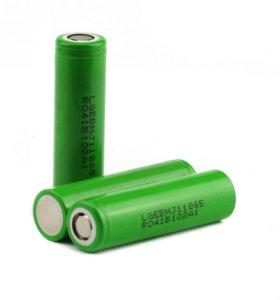 Высокотоковые аккумуляторы Li-ion 18650