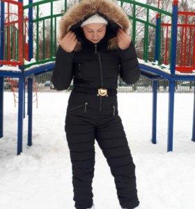 Зимний комбинезон женский