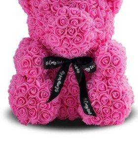 Мишка из 3D роз Тольятти 💥