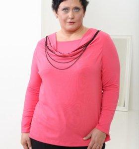 Продам нарядную блузку размер 58-60