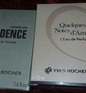 Yves Rocher духи женский и мужской
