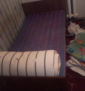 2 кровати и 1 диван