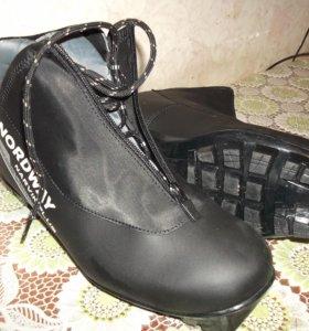 Новые лыжные ботинки Nordway 43-й размер