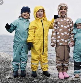 Непромокаемый костюм резиновый для девочки Kulling