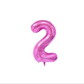 🎈 Воздушный шар цифра 2 на день рождения🎉