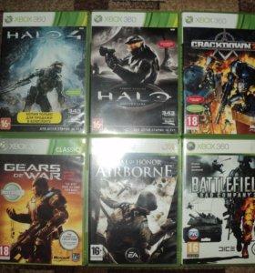 Игры Xbox 360 лицензия, большой выбор