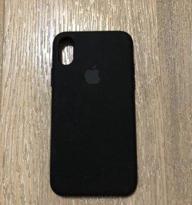 Silicon case для iPhone X/XS