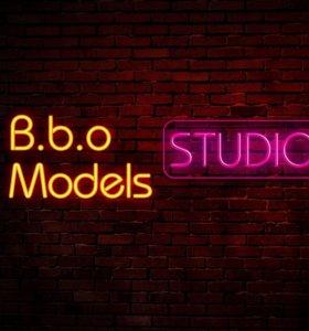 Набор моделей в студию B.b.o Models