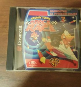 Игровой диск для Dreamcast Looney tunes Space race