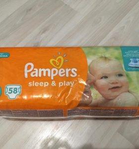 Подгузники Pampers sleep play 3