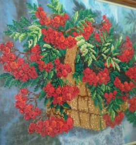 Картина, вышивка бисером