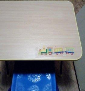 Новый комплект стол+стул.