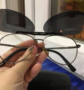 Очки с магнитном держателем