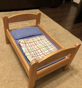 Кроватка для кукол (Икея)