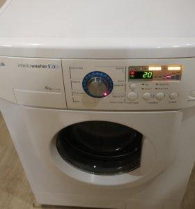 Стиральная машина LG (6кг) прямой привод.