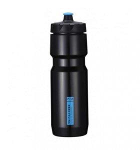 "Бутылка ""CompTank"" 750ml (черно-синяя)"