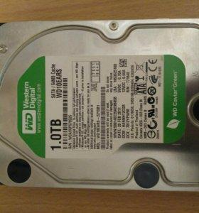 Жесткий диск WD Green 1Tb SATA