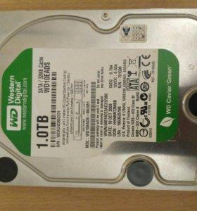 Жеский диск WD 1Tb SATA