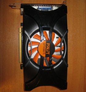Видеокарта GTX550ti 2g