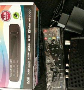 Цифровая WiFi приставка DVB-T2 (новая)