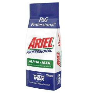 Стиральный порошок Ariel professional Alpha