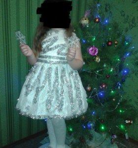 Прокат костюм снежинки