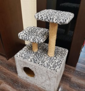Домик для кошки + когтеточка