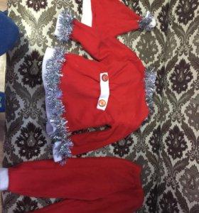Новогодний костюм на мальчика 3-5 лет