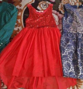 Нарядные платья все 3!!!
