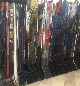 Восстановленные хоккейные клюшки