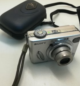 Фотоаппарат Sony CyberShot DSC-W5