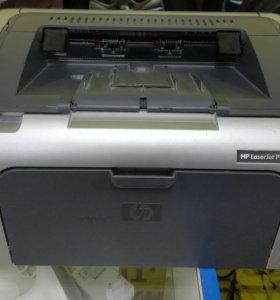 Принтер лазерный HP LaserJet P1006