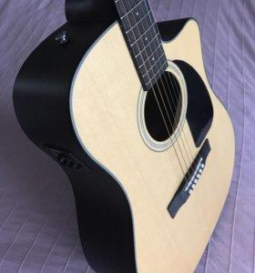 Гитара электроакустическая Fender CD-100CE NAT