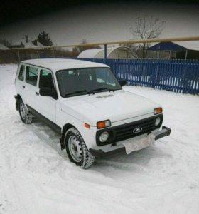 ВАЗ (Lada) 4x4, 2017
