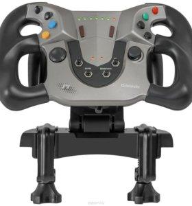 Defender Forsage Sport USB/PS3 игровой руль