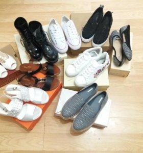 Обувь пакетом 9 пар