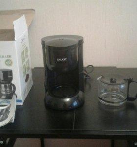 Электрическая кофеварка galaxy gl 0707