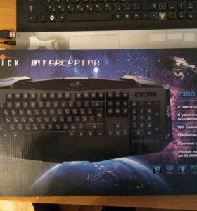 Клавиатура OKLICK 730G INTERCEPTOR